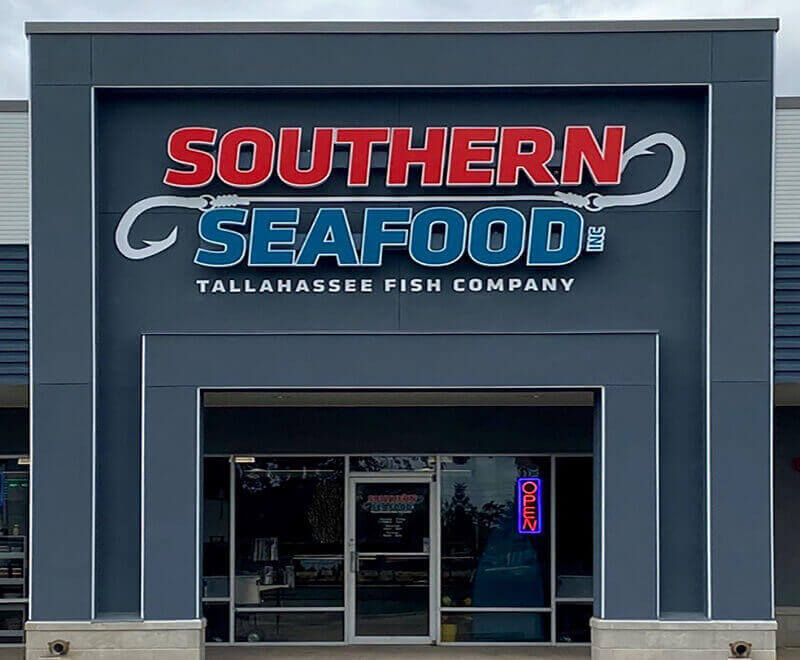 Southern Seafood Market Front.