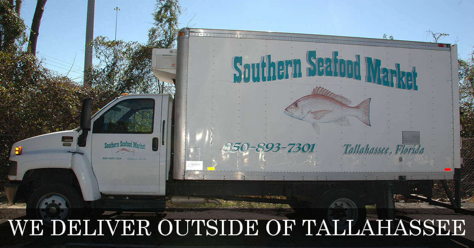 We Deliver - Southern Seafood Delivery Truck